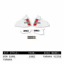 YAMAHA YZ250 1982 OEM MX MOTOCROSS GRAPHICS KIT DECALS STICKERS