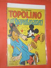 ALBO D'ORO TOPOLINO n° 125-B- DEL 1948-GLI SPAVENTAPASSERI -mondadori- disney