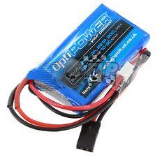 Lipo Batería Celular Rx Optipower 430 mAh 2S1P 20 C Muliti-compra descuento!!!