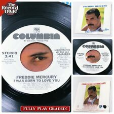 FREDDIE MERCURY Born To Love You (Queen) COLUMBIA rock DJ WLP PROMO! NM- Wax 45