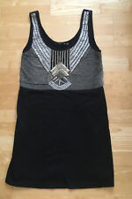 Black and silver  SPORTSGIRL dress size M great condition