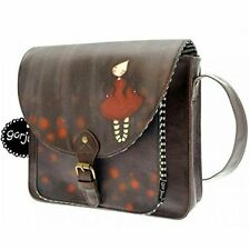 Santoro Eclectric - Gorjuss Saddle Bag Poppy Wood