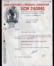 """PONT-DE-METZ-LES-AMIENS (80) USINE de PRODUITS d'ENTRETIEN """"LION D'ARRAS"""" 1955"""
