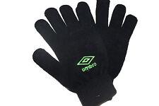 umbro Iphone gloves.Black/green