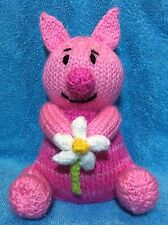 KNITTING PATTERN - Piglet inspired chocolate orange cover / 15 cms toy
