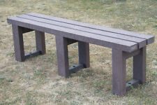 BENCH SEAT OUTDOOR PARK GARDEN COUNTRY 1.8M 100% RECYCLED PLASTIC HEAVY DUTY