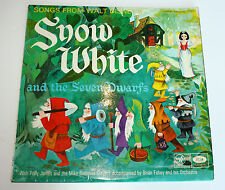 "Walt Disney - Snow White and the Seven Dwarfs - 1966 Film Soundtrack 12"" Vinyl L"