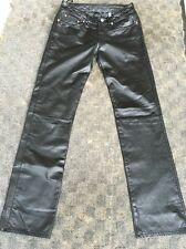 Lucky Brand Dungarees Leather Jeans Size 26 Reg Length