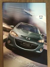 MAZDA 2 VENTURE CAR BROCHURE 2012 SPECIAL EDITION 1.3i 84ps DE 5 DOOR HATCHBACK