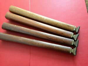 Set of 4 Vintage Screw In Furniture Wooden Legs Approx 31cms