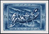 SCHWEIZ 1945, Herzstück aus Block 11, MiNr. 445, tadellos postfrisch, Mi. 90,-
