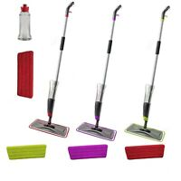 Spray Floor Mop Water Spraying Floor Cleaner Includes 1 Microfibre Pad