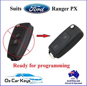 FORD RANGER PX 2011 2012 2013 2014 2015 CAR REMOTE TRANSPONDER FLIP KEY FOB