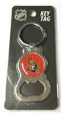 Sénateurs d'ottawa nhl logo metal décapsuleur clé chaîne