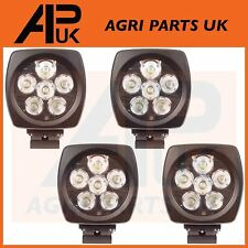 4 CREE LED 60W Work Light Lamp Flood Beam Offroad 4WD Truck Boat SUV 4x4 5040Lm