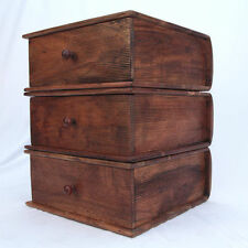 England Solid Wood Height 3 Chests of Drawers