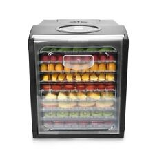 New ListingAroma Professional 9-Tray Digital Food Dehydrator Afd-915Bd, Msrp $170
