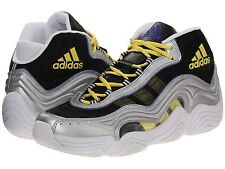 Men's adidas Crazy 2 Silver Metallic/Light Yellow Size US 12.5 MSRP 130$