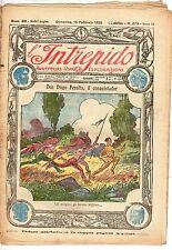 rivista L'INTREPIDO ANNO 1925 NUMERO 273