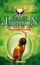 MAR DE LOS MONSTRUOS : PERCY JACKSON Y LOS DIOSES DEL OLIMPO (II): By Riordan...