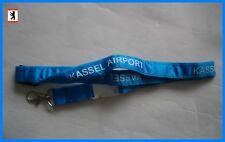 ✈ Flughafen KASSEL AIRPORT KSF Schlüsselband Lanyard aviation airline (OVP)
