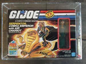 G.I. Joe Serpentor NEW SEALED AFA 80 80/85/90 - Cobra Emperor