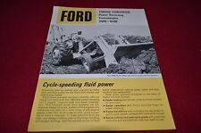 Ford 3500 4500 Torque Converter Transmission Tractor Dealer's Brochure LCPA3