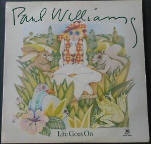 "PAUL WILLIAMS Life Goes On 12"" Vinyl LP 1972 A&M Records AMLS 64367"