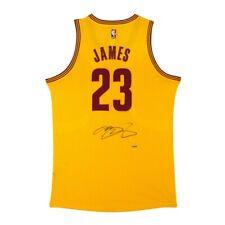 LEBRON JAMES Upper Deck UDA Signed Cleveland Cavaliers Adidas Alternate Jersey