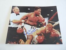 Ray Mercer Vs Tommy Morrison Signed Autographed Boxing 8x10 Photo PSA Guaranteed