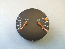 USED ORIGINAL GENUINE PORSCHE 928 COMBINATION OIL PRESSURE ALTERNATOR GAUGE NLA
