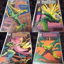 Martian Manhunter 4 Issue Mini-Series - 1988 DC Comics