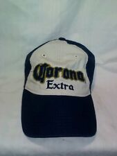 New Corona Extra Beer Blue Hat Cap Cozumel Mexico Velcro Adjustable