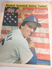 The Sporting News Magazine Rick Monday Dodgers April 23, 1977 061317nonr2