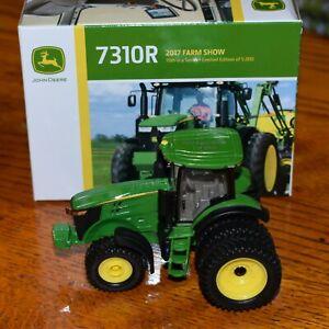 Ertl #45606A 1:64 John Deere JD 7310R Tractor w/ duals 2017 Farm Show MIB