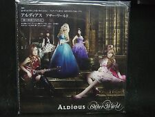ALDIOUS Other World JAPAN CD (POSTER SLEEVE JACKET)Raglaia Galmet Crying Machine
