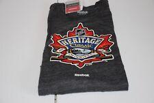 Winnipeg Jets Reebok Nhl Heritage Classic T-Shirt Grey Medium