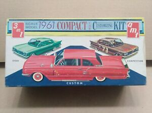 Vintage AMT 3 in 1 1961 Ford Falcon Ranchero in 1/25th scale.