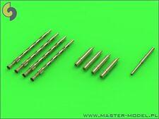 20 mm hispano,.303 Browning Barriles & Pitot Para Mosquitos Mk.ii / fb.vi 1/48 Master