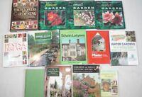 RHS Gardening Books Job Lot - Landscape Encyclopedia Flowers Water Pest Disease