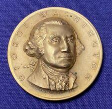 HTF 1962 Medallic Art Co Benjamin Franklin Hall of Fame Great Bronze Medal
