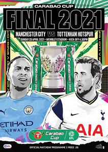 Spurs Tottenham Hotspur v Manchester City - Carabao Cup Final - 25 April 2021