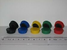 10 x Office/Fridge/Whiteboard Magnet 7mmThick  20mm or 25mm Dia in 5 Colours