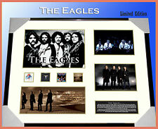 ON SPECIAL!! THE EAGLES MEMORABILIA SIGNED FRAMED LIMITED EDITION TO 499 w/ COA