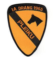 """1st Cav Div/IA Drang - Cav Patch (Horse) """"PLEIKU"""" BC Patch Cat. No. C5645"""
