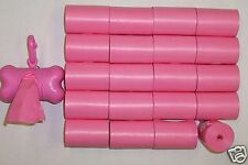 900 PINK DOG WASTE PICK UP BAGS CORELESS / FREE PINK DISPENSER