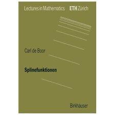 Splinefunktionen by Carl de Boor (1990, Paperback)