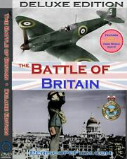 WWII BATTLE OF BRITAIN DELUXE EDITION Documentary War Films DVD