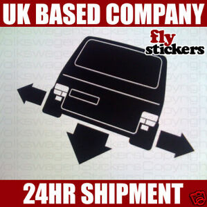 NEW* Down and Out Sticker,Volkswagen T4 Caravelle TwinD