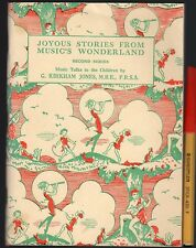 1962 Reader JOYOUS STORIES From MUSIC'S WONDERLAND
